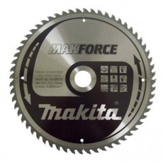 Пильный диск для дерева MAKFORCE,270x30x1.8x60T, MAKITA, B-08573